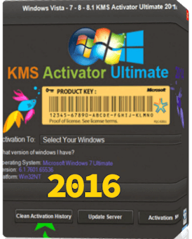 Windows KMS Activator Ultimate 2016