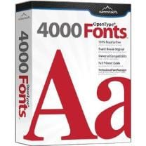 Summitsoft Creative Fonts 4000
