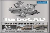 TurboCAD Pro Platinum 2016 23.2 Full Crack + Keygen