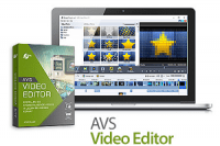 AVS Video Editor v8.1.1.311 Crack + License Key