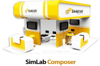 SimLab Composer 9 Crack v9.0.1 Full Version