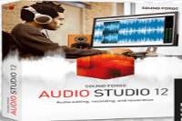 Magix Sound Forge Audio Studio 12 Crack
