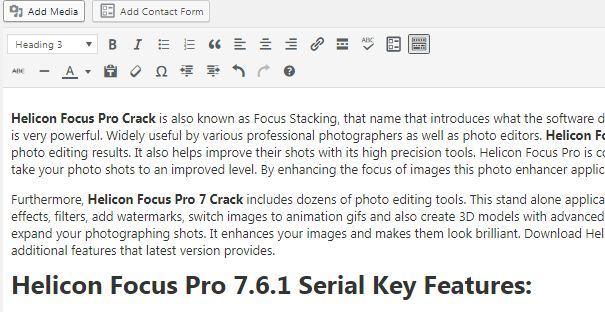 Helicon Focus Pro 7.6.1 Free Download