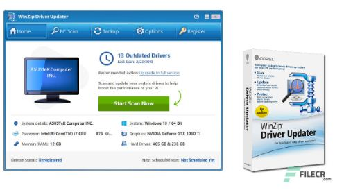 WinZip Driver Updater 5.32.0.20 Free Download